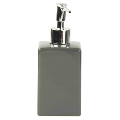 Armaz Ceramic Square Soap Dispenser Color: Gray