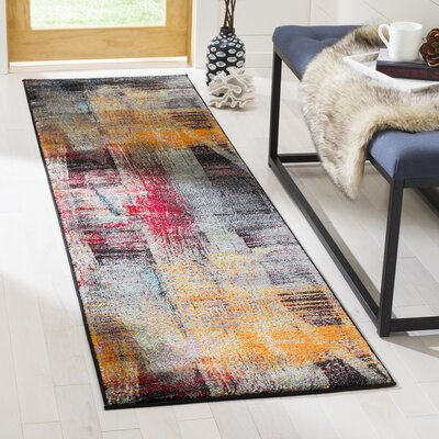 Skidmore Red/Orange Area Rug