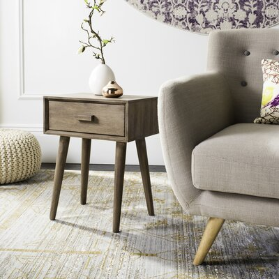 Creel End Table Finish: Dessert Brown