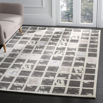 Jefferson Hand-Tufted Area Rug Rug Size: Rectangle 6 x 9
