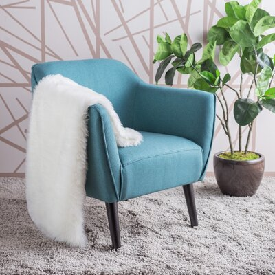 Aurianna Arm Chair Upholstery: Dark Teal