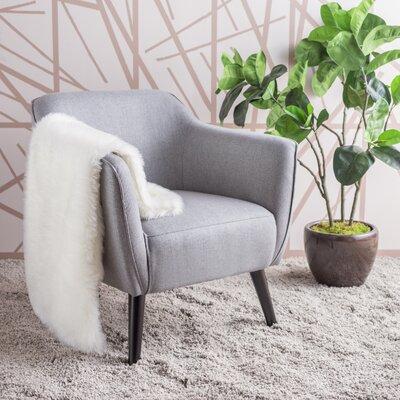 Aurianna Club Chair Upholstery: Gray