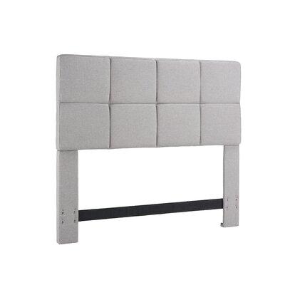 Tarina Upholstered Panel Headboard Size: Full / Queen, Upholstery: Sand Stone