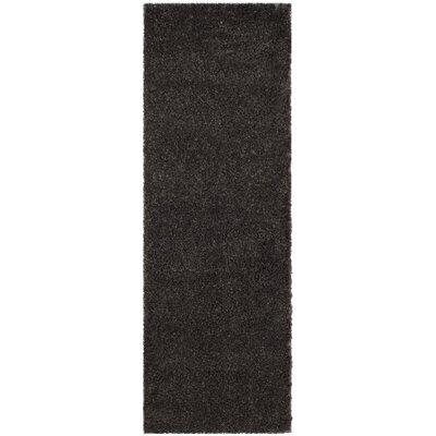 Hornell Dark Gray Area Rug Rug Size: Runner 23 x 7