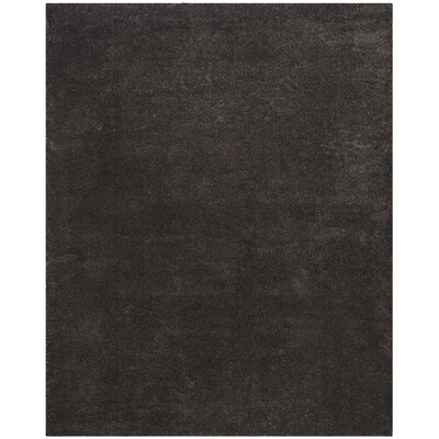 Hornell Dark Gray Area Rug Rug Size: Rectangle 8 x 10