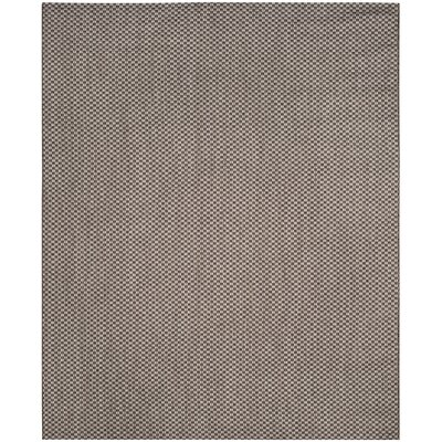 Jefferson Place Light Brown/Light Gray Outdoor Area Rug Rug Size: Rectangle 8 x 11