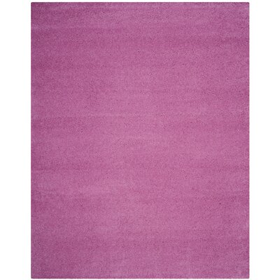 Vandoren Pink Area Rug Rug Size: Rectangle 8 x 10