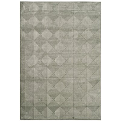 Pomonok Green Area Rug Rug Size: Rectangle 53 x 76