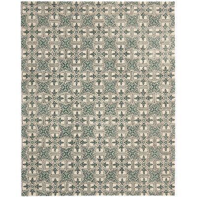 Vanderford Light Blue Rug Rug Size: Rectangle 8 x 10
