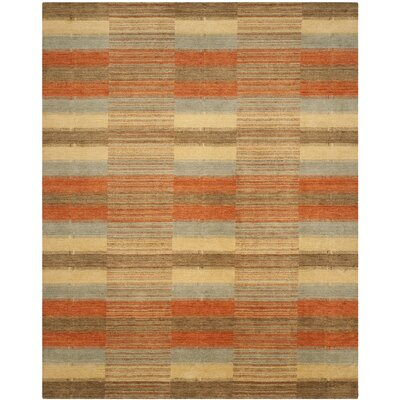 Trost Striped Area Rug Rug Size: Rectangle 8' x 10'
