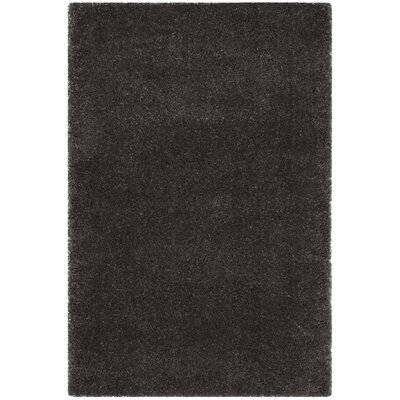 Hornell Dark Gray Area Rug Rug Size: Rectangle 4 x 6