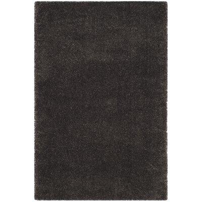 Hornell Dark Gray Area Rug Rug Size: Rectangle 4 x 6