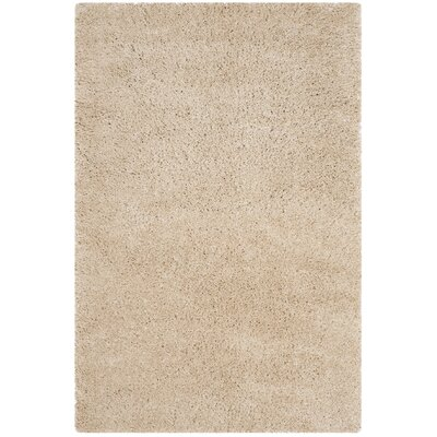 Hornell Light Beige Area Rug Rug Size: Rectangle 4 x 6