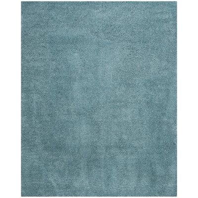 Hornell Power Loomed Blue Area Rug Rug Size: Rectangle 8 x 10