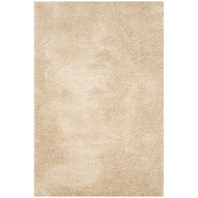 Hornell Light Beige Area Rug Rug Size: Rectangle 51 x 76