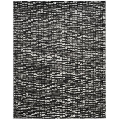 Sevastopol Light Gray/Charcoal Area Rug Rug Size: Rectangle 8 x 10