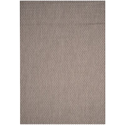 Jefferson Place Light Brown/Light Gray Outdoor Area Rug Rug Size: Rectangle 67 x 96