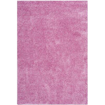 Vandoren Pink Area Rug Rug Size: Rectangle 53 x 76