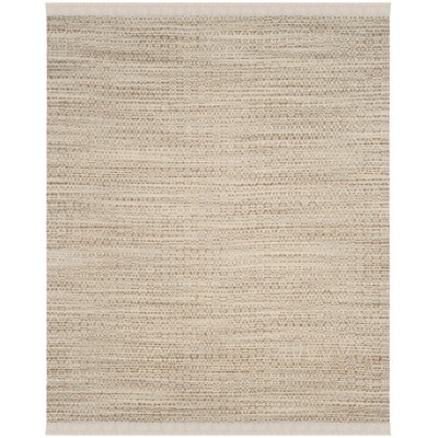 Redbrook Hand-Tufted Beige/Ivory Area Rug Rug Size: Rectangle 8 x 10