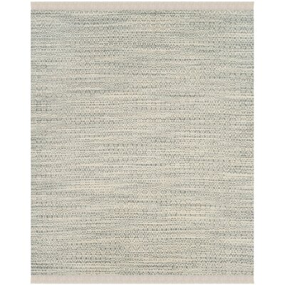 Redbrook  Hand-Tufted Gray/Ivory Area Rug Rug Size: Rectangle 8 x 10