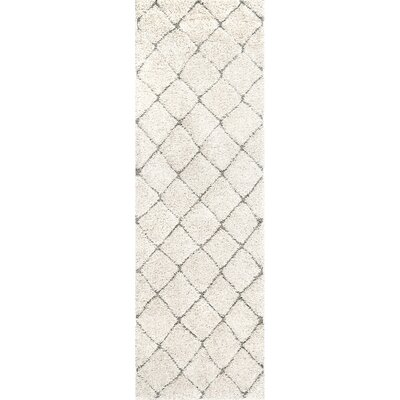 Potter Cream Area Rug Rug Size: Runner 28 x 8