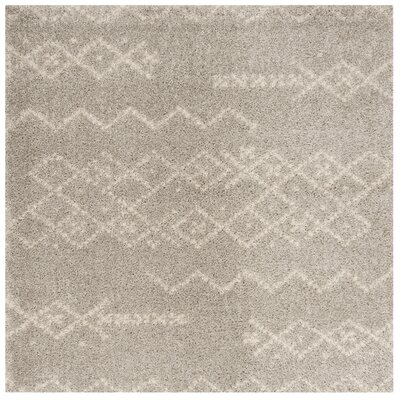 Amicus Brown Area Rug Rug Size: Square 67