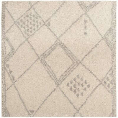 Amicus Beige/Gray Area Rug Rug Size: Square 67