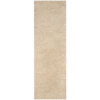 Hornell Light Beige Area Rug Rug Size: Runner 23 x 7