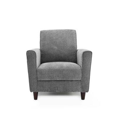 Harman Armchair Upholstery: Charcoal