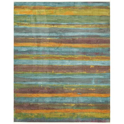 Purington Gray Area Rug Rug Size: Rectangle 8'2