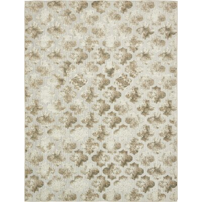Sarmiento Cream Indoor/Outdoor Area Rug Rug Size: Rectangle 9 x 12