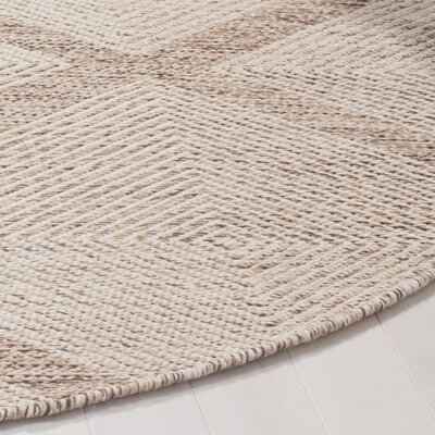 Shevchenko Place Hand-Woven Beige Area Rug Rug Size: Rectangle 3 x 5