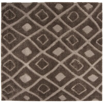 Helms Brown/Beige Area Rug Rug Size: Square 67