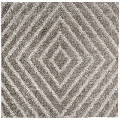 Helms Brown/Gray Area Rug Rug Size: Square 67
