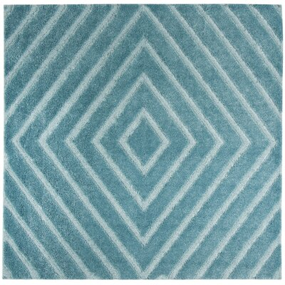 Helms Blue Area Rug Rug Size: Square 67