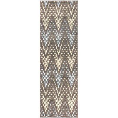 Vergara Arete Slate Area Rug Rug Size: Runner 27 x 8