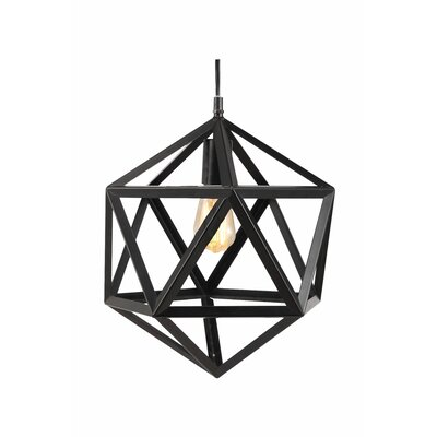 Pollux 1-Light Geometric Decorative Novelty Indoor/Outdoor Light
