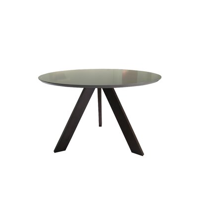 Ramsay Mid Century Modern Dining Table Base Color / Top Color: Brown Oak / Matte Gray