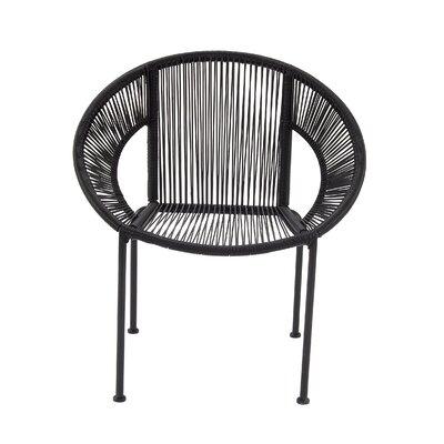 Glendale Heights Papasan Chair Finish: Black