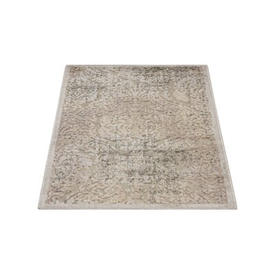 Simms Gray Area Rug Rug Size: Runner 23 x 8