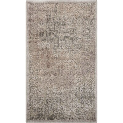 Simms Gray Area Rug Rug Size: Rectangle 23 x 39