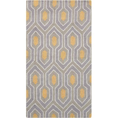 Iseminger Hand-Tufted Ash Area Rug Rug Size: Rectangle 18 x 34