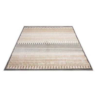 Simoes Beige Area Rug Rug Size: Rectangle 53 x 73