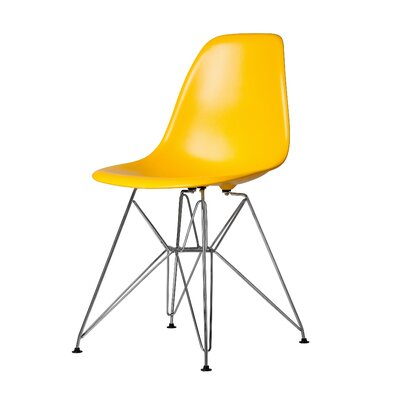 Khang Side Chair Color: Yellow
