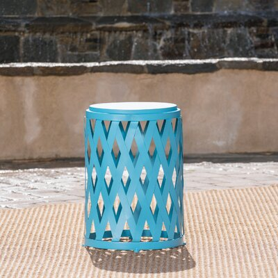 Quillen End Table Color: Matte Blue