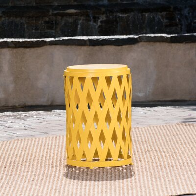 Quillen End Table Color: Matte Yellow