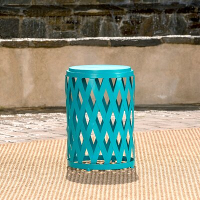 Quillen End Table Color: Matte Teal