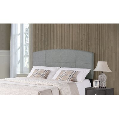 Leblanc Upholstered Panel Headboard Size: Full/Queen, Color: Smoke Gray