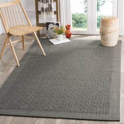 Wyckhoff Gray Area Rug Rug Size: Rectangle 8 x 10
