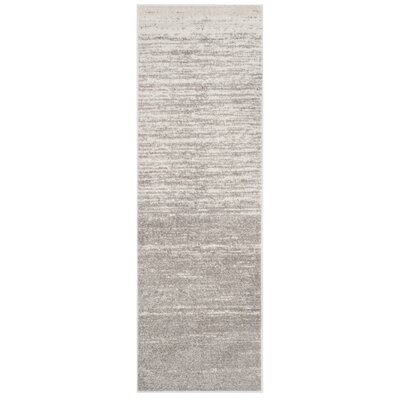 Schacher Gray Area Rug Rug Size: Runner 26 x 12